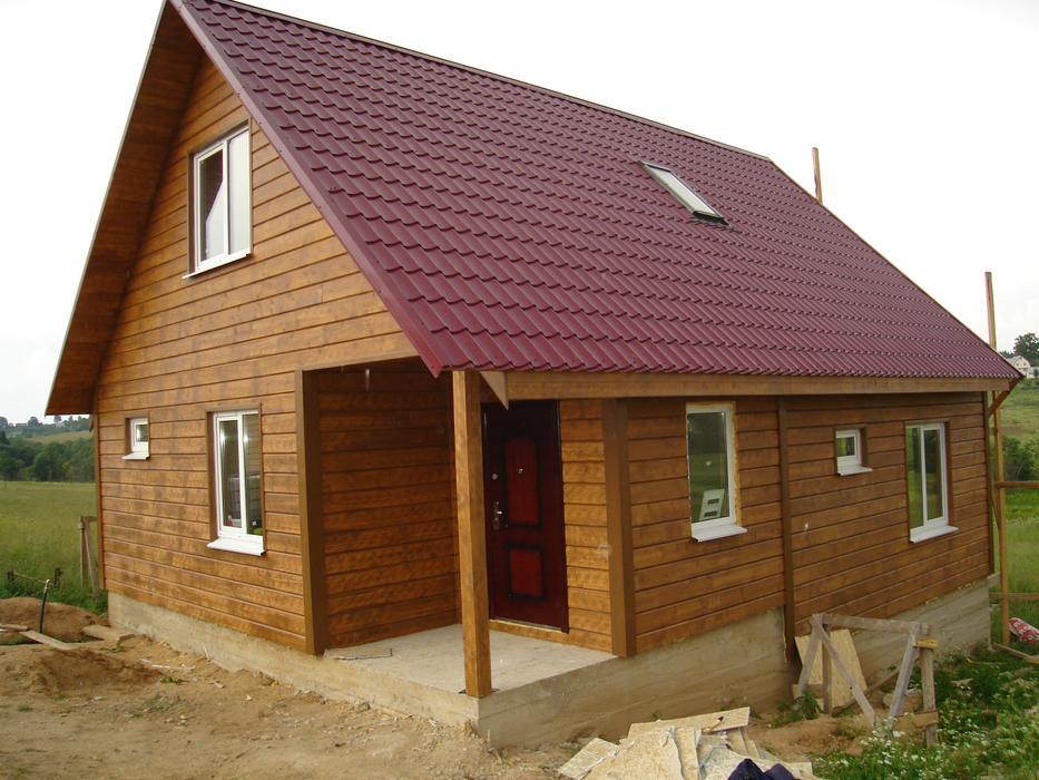 Дачные дома из бруса, каркасные дачи, проекты и цены